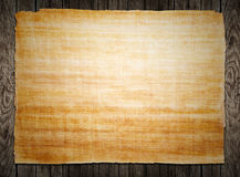 Old papyrus paper Stock Photography