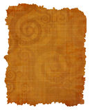 Old papyrus texture Royalty Free Stock Photography
