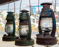 Old paraffin lamp Stock Photos