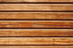 Old parallel wooden logs Stock Photos
