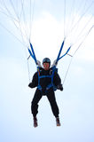 The old paratrooper Royalty Free Stock Images