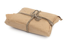 Old parcel Stock Photography