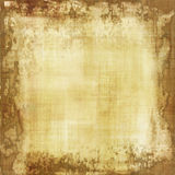 Old parchment. Vintage worn parchment with space for text or image Royalty Free Stock Photography
