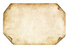 Old Parchment. Background Stock Image