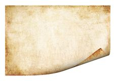 Old Parchment. Background Royalty Free Stock Photo