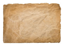 Old parchment Royalty Free Stock Photography