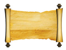 Old parchment Stock Photo