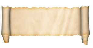 Old parchment. Royalty Free Stock Images