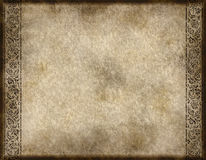 Old parchment or paper Royalty Free Stock Photo