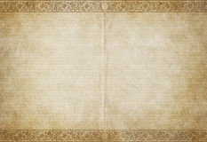 Old parchment paper. Great background image of old parchment paper royalty free illustration