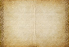 Old parchment paper Royalty Free Stock Image