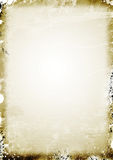 Old parchment paper background Stock Images