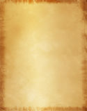 Old Parchment Paper Background. This old parchment style background of a Letter sized and has the addition of 1/4inch bleed all around the edge. Although you can Royalty Free Stock Photos
