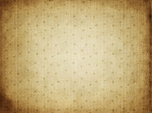 Old parchment paper floral background Royalty Free Stock Photos
