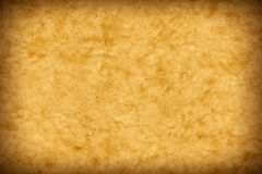 Old parchment paper look. With a nice vignette. Artwork greater than A3. Copyspace Royalty Free Stock Images