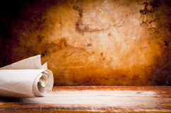 Old Parchment Paper Scroll Royalty Free Stock Images