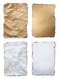 Old Parchment Paper stock Royalty Free Stock Image