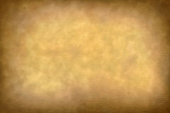 Old parchment paper texture with vignette Stock Photography