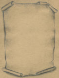 Old parchment - pencil royalty free stock photography
