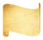 Old Parchment Scroll Royalty Free Stock Photo