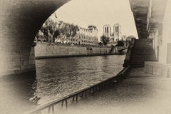 Old Paris Royalty Free Stock Photography
