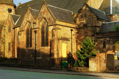 Old parish church in Ibrox in Glasgow Stock Photo