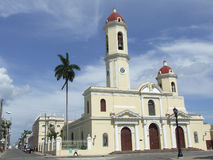 Old Parish Church, In Cienfuegos Royalty Free Stock Photo