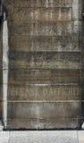 Old Parisian wall Royalty Free Stock Photo