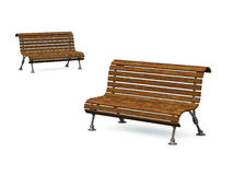Free Old Park Bench 04 Stock Image - 18439191