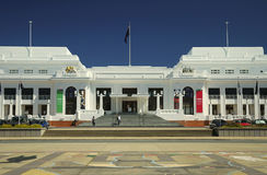 Old Parliament Building. In Canberra, Australia Stock Photography