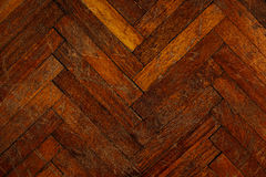 The old parquet. The background. Royalty Free Stock Images