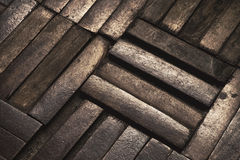 Old parquet Stock Image