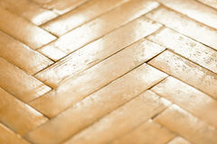Old parquet closeup Stock Photography