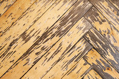 Old parquet floor Royalty Free Stock Photos