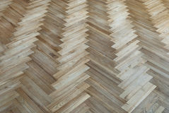 Old parquet with the pattern Royalty Free Stock Photo