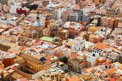 Old part of Alicante from Castle Stock Photography