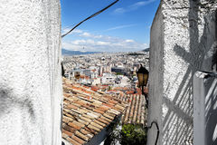 Old part of Athens, Greece Stock Photo