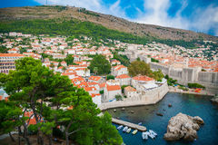 Old part of Dubrovnik Royalty Free Stock Image
