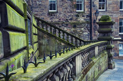 Old part of Edinburgh Stock Photo