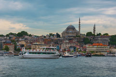Old part of Istanbul Stock Photos