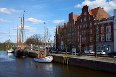 Old part of Lubeck. Germany Royalty Free Stock Photography