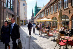 Old part of Lubeck. Germany Stock Photography