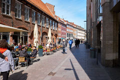 Old part of Lubeck. Germany Royalty Free Stock Images