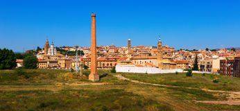 Old part of Tarazona in sunny day. Zaragoza,  Aragon Royalty Free Stock Images
