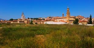 Old part of Tarazona. Zaragoza Royalty Free Stock Photos