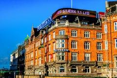 Old part of town in Copenhagen, Denmark Stock Images