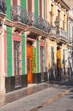 Old part of Valencia, Spain Stock Photo