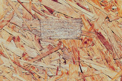 Old particleboard background texture surface pressed wood Stock Photo