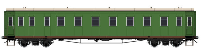 The old passenger car Royalty Free Stock Image