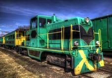 Old Passenger Train Royalty Free Stock Photo